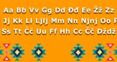 Latinica je takođe srbsko pismo