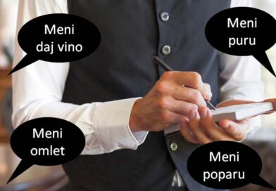 """Srbizmi u srbskom jeziku na primjeru pojma """"Meni"""""""